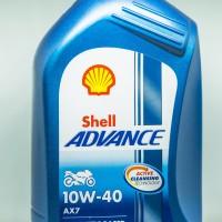 Oli Motor high technology Shell Advance AX7 1L 10W-40 SM/MA2