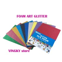Foam Art Gliter Bazic 20 x 30 1 pak