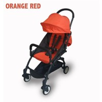 Stroller Kabin Size BabyDoes CH-337-SN Petite Red Orange