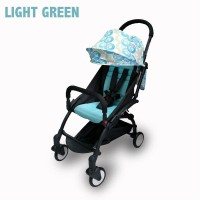 Stroller Kabin Size BabyDoes CH-337-SN Petite Light Green