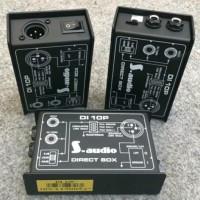 S Audio Direct Box DI Box DI 10P