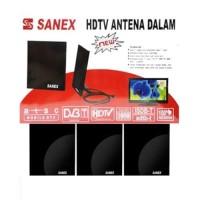 SN-722 Antena TV SANEX HDTV Smart Chip+Bingkai+Kabel indoor/outdoor