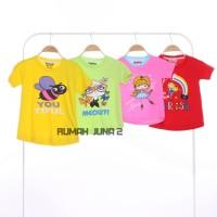 ECER Oshkosh Girl Size 2-8T Kaos Atasan Pakaian Baju Anak Perempuan