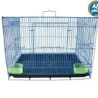Kandang kucing kelinci hamster ukuran M (50 x 31 x 37)