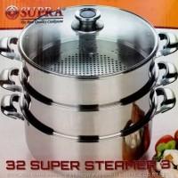 Panci Supra Steamer 32Cm - 3susu