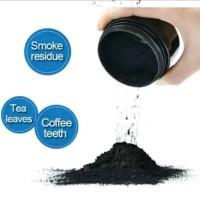 Karbon Aktif Bubuk Activated Charcoal Powder Arang Aktif Pemutih Gigi