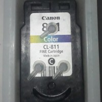 Cartridge Canon CL 811 Color Infus Siap Pakai Ori Recycle Ip2770 Mp287