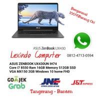 ASUS Zenbook UX430UN IH74 I7 8550 16GB 512GB SSD MX150 2GB FHD Win10
