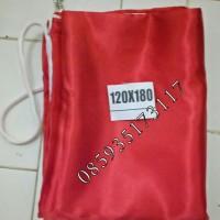 Bendera merah/putih ukuran 120x180 cm bahan satin