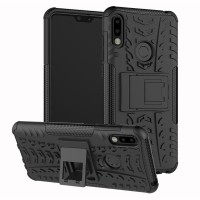 Hard Soft Case Asus Zenfone Max Pro M2 Casing HP Armor Stand Silikon