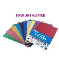 Foam Art Gliter Bazic 20 x 30 PILIH 1 WARNA