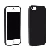 Case Matte Iphone 5 5S 5G SE / Black Anti Minyak