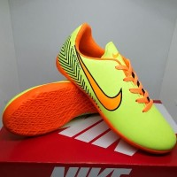 Sepatu Futsal Anak Kids Nike Mercurial Volt Orange Size 33-37