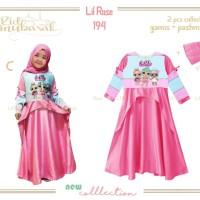 Baju Muslim LOL / Gamis Anak LOL : LR 194 C - LOL (2-7 Tahun)