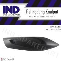 Cover-Tameng-Tutup-Pelindung Knalpot-Kenalpot Mio J/Mio GT/Soul GT 115