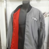 Jaket Bomber Plas Box Screams