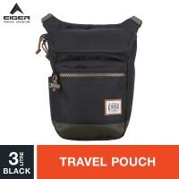 Eiger 1989 Wayfarer Travel Pouch 3L - Black