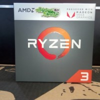 Processor AMD RYZEN 3-2200G (3.5GHz) PINACLE RIDGE GEN 2