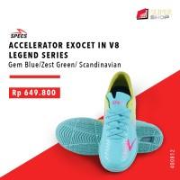 Sepatu Futsal Specs ACCELERATOR EXOCET IN V8 LEGEND SERIES Gem Blue/Z