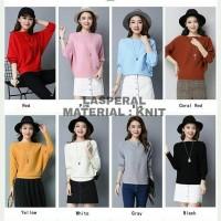 Fashion Wanita Baju Atasan Blouse Sweater Wanita Terbaru Lasperal Knit