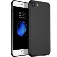 Case Matte Iphone 7 / Black Anti Minyak