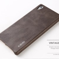 Sony Xperia Z5 Plus Premium leather back cover casing X-LEVEL VINTAGE