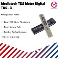 Mediatech Digital TDS Meter Alat Pengukur Kadar Mineral AIR