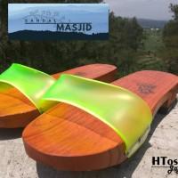 TERMURAH Bakiak Teklek Klompen Gapyak Sandal Kayu Masjid Tradisional