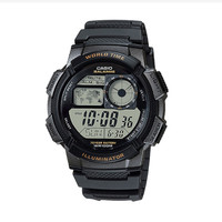 Casio AE-1000W 1AVDF 10 Year Battery Water Resistance 100M Black Resin