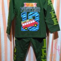 Baju tidur anak laki-laki..Size : 10 12 14 Kisaran usia 4-6 thn