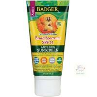 Badger Anti Bug Sunscreen SPF 34 (exp. 03/19)