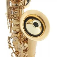 Saxophone Peredam Mute Silencer Dampener for Alto Sax Saxophone - Gold