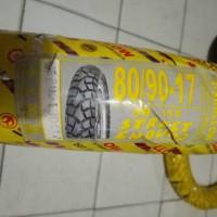 Ban Tubeless Swallow 80/90-17 Street Enduro SB-117 Semi Trail Ring 17