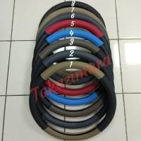 Sarung stir cover setir mobil Datsun Go + Panca