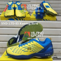 Sepatu Badminton RS SND LTD 03 Kuning/Biru