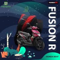 COVER MOTOR HONDA BEAT PREMIUM QUALITY / SARUNG MOTOR FUSION R - Hitam