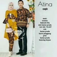 AGS Couple Atina Batik kebaya kemeja pakaian muslim wanita pria