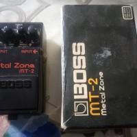 Sale Efek Gitar Boss Metal Zone Mt2 Second Stock Terbatas