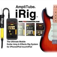 New Irig Amplitube Untuk Efek Gitar/Bass Via Iphone,Ipad &Android