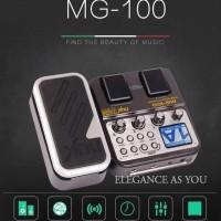 Diskon Nux Pedal Efek Gitar Synthesizer Processor - Mg-100 - Black