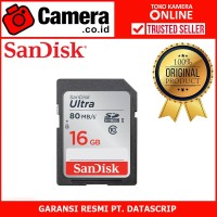 SanDisk Ultra SDHC UHS-I Class 10 16GB (80mbps/533x)