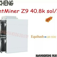 Asic Equihash Miner Antminer Z9 40.8k Sol/s With 1800W Power Supply