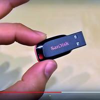 FD/ Flashdisk Sandisk Cruzer Blade 8GB.