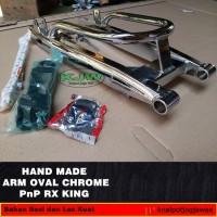 Swing arm rx king oval chrome Sapit Udang RxKing Krom by KJW Jogja