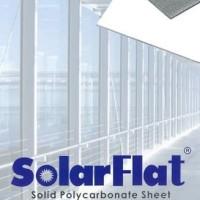 Atap Polycarbonate solid Solarflat 3mm