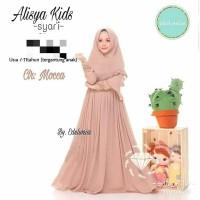 alisa kids syar'i / pakaian anak / fashion muslim anak