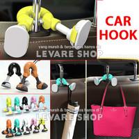 Car Hook Hanger Organizer Mobil - Gantungan Barang Tas Kantong Belanja