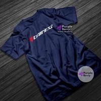 Kaos DAINESE Racing Baju Balap Logo Otomotif Motor Mobil - 1288 - Putih, S