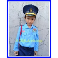Baju Kostum Karnaval Profesi TNI AU Anak(size 2-5)