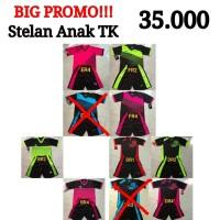 Kaos Jersey Baju futsal stelan Anak TK.